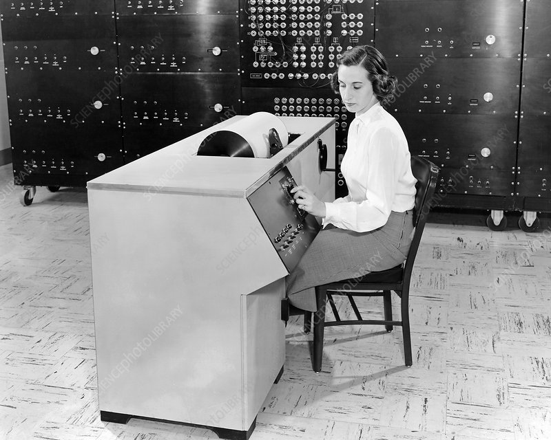 Analogue computer, 1951