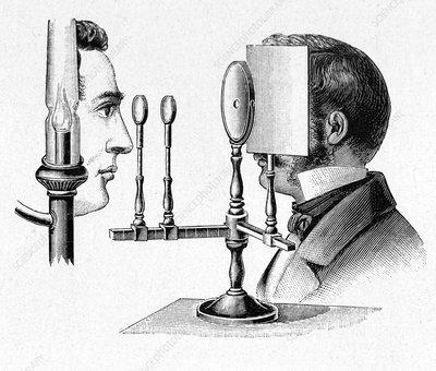 Helmholtz Ophthalmoscope, artwork