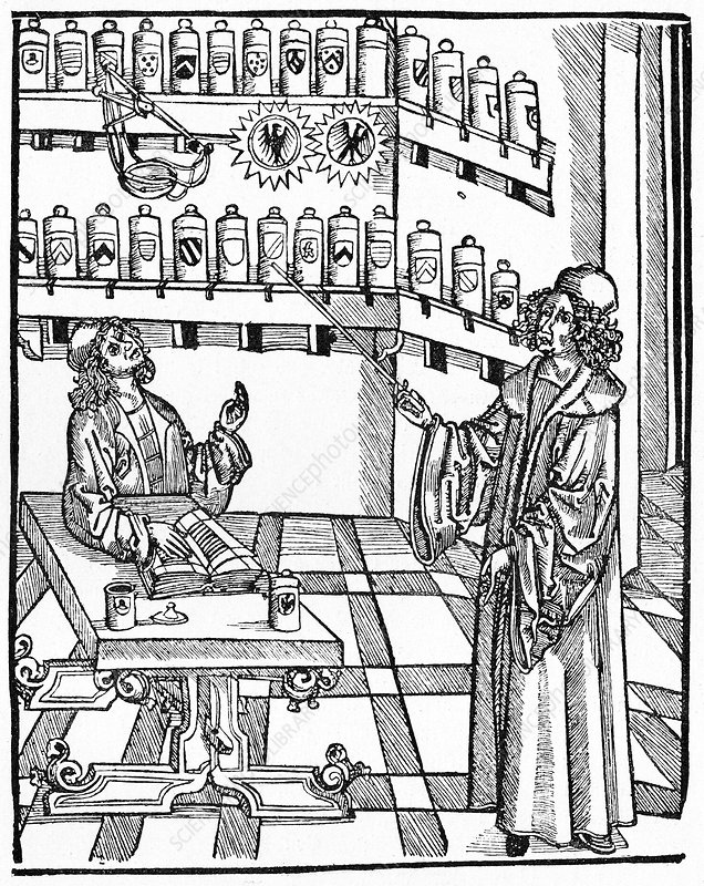 16th Century German pharmacy school
