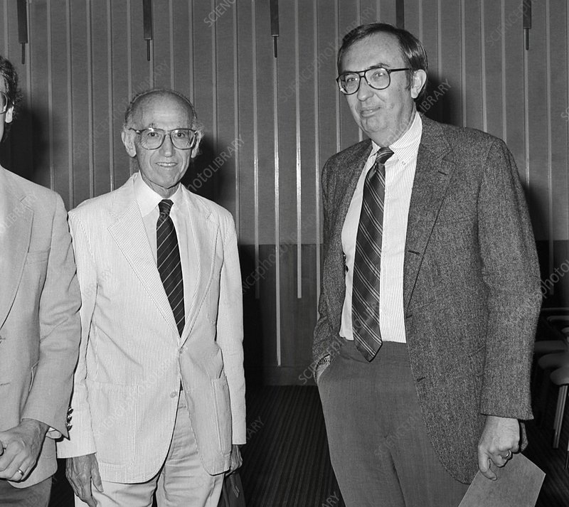 Jonas Salk and Frederick Murphy