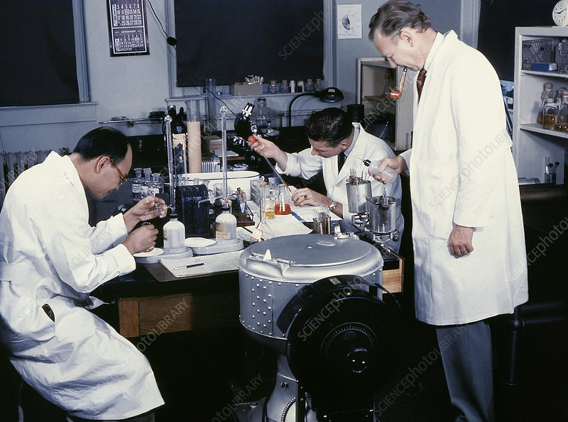 Plague research, 1967