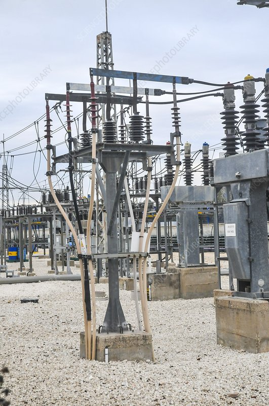 Electricity transformation substation