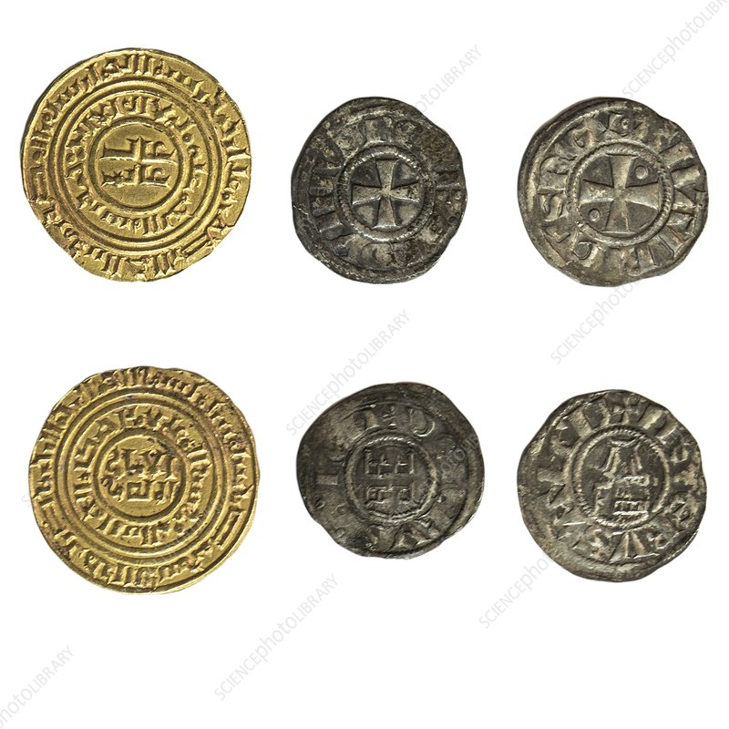 Crusader Kingdom of Jerusalem coins