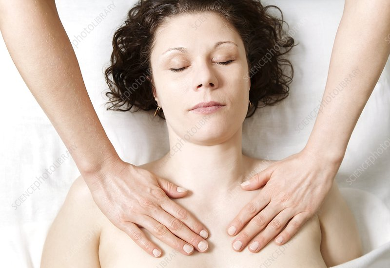Shoulder and chest massage