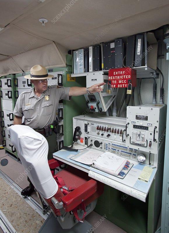 Minuteman missile control room