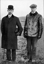 Wright brothers, US aviation pioneers