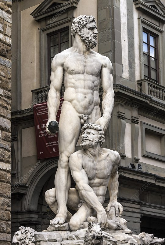Hercules and Cacus, Florence, Italy