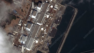 Fukushima nuclear power plant, Japan