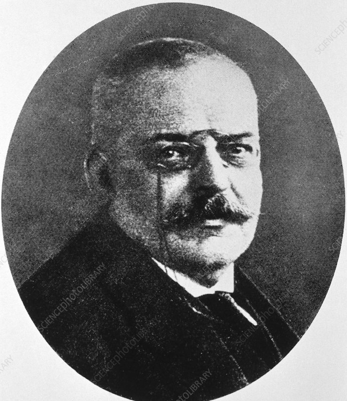 Alois Alzheimer, German neuropathologist