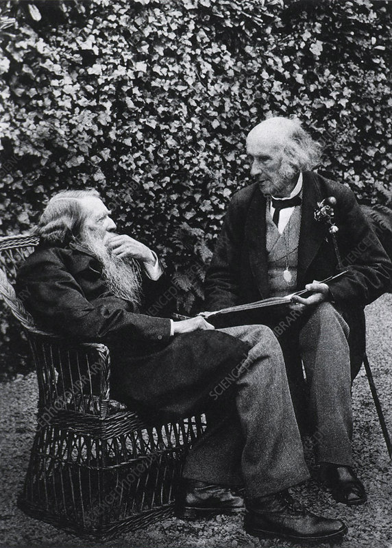 John Ruskin and Henry Acland, 1893