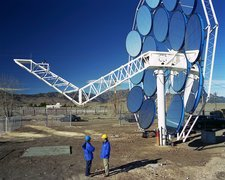 SAIC solar thermal dish