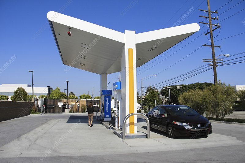 Hydrogen fuelling station, USA