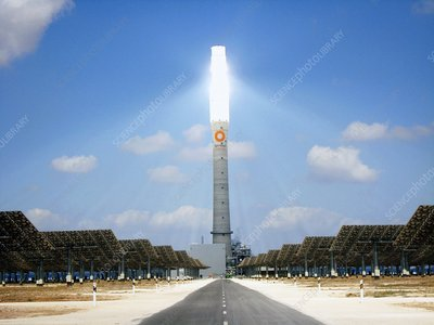 Concentrating solar power plant, Spain