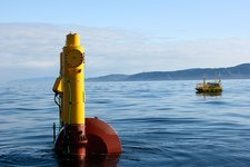 WET-NZ wave energy converter being tested