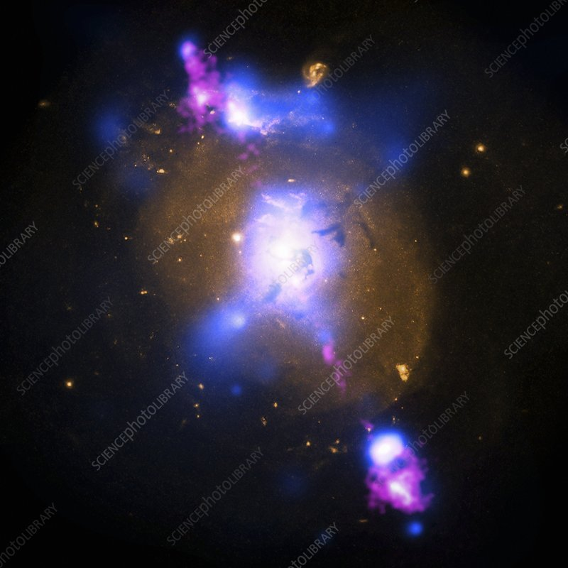 Galaxy and supermassive black hole