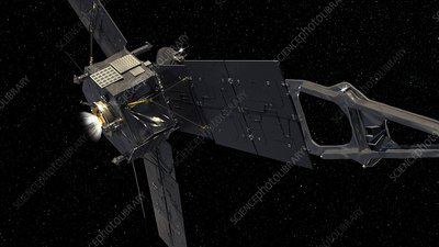 Juno spacecraft, artwork