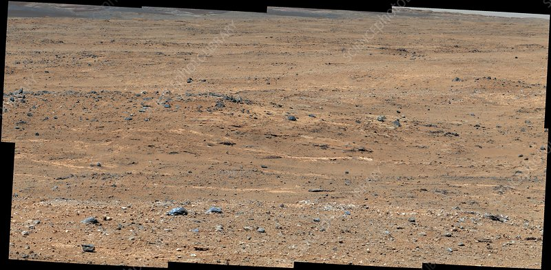 Waypoint 1, Mars, Curiosity Rover image