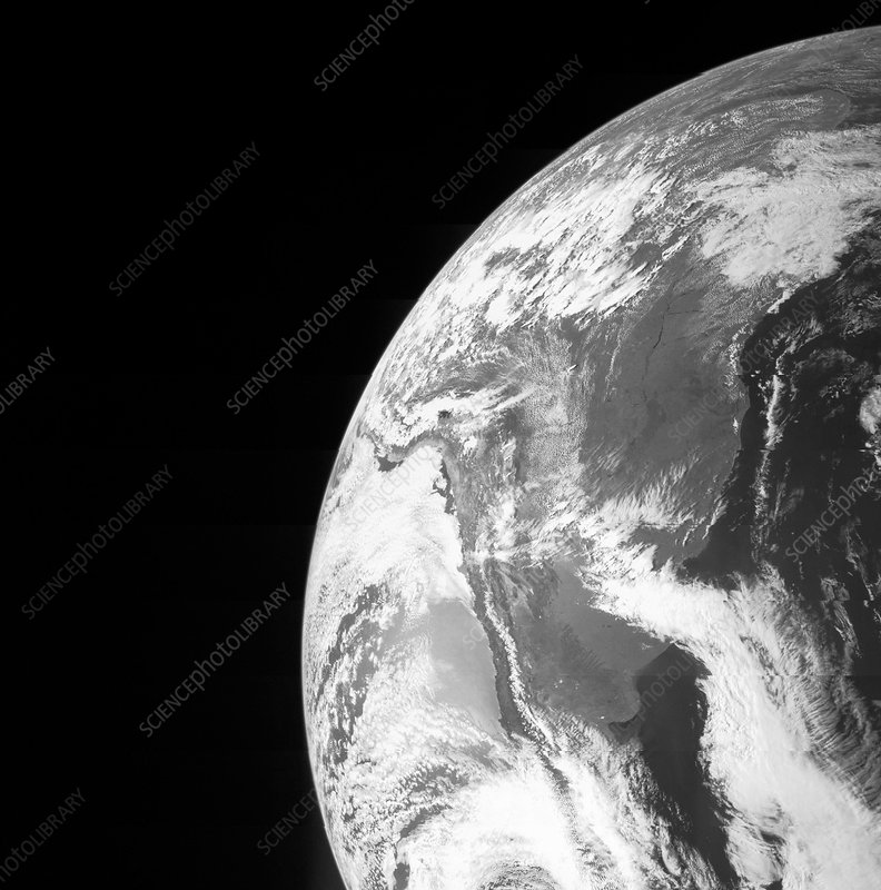 Earth from space, Juno image