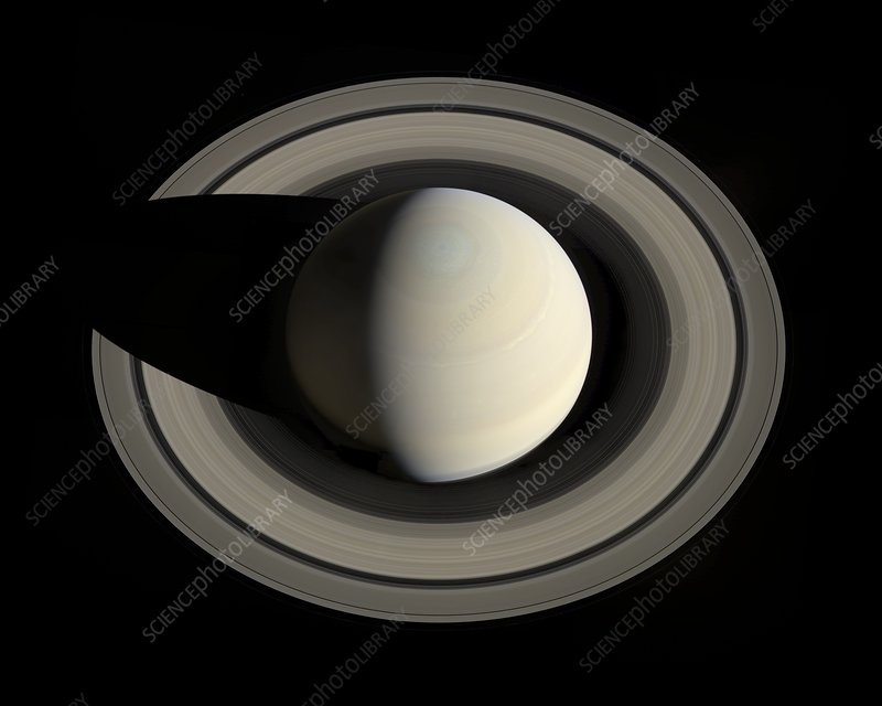 Saturn from space, Cassini image