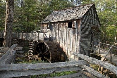 Grist mill, Tennessee, USA