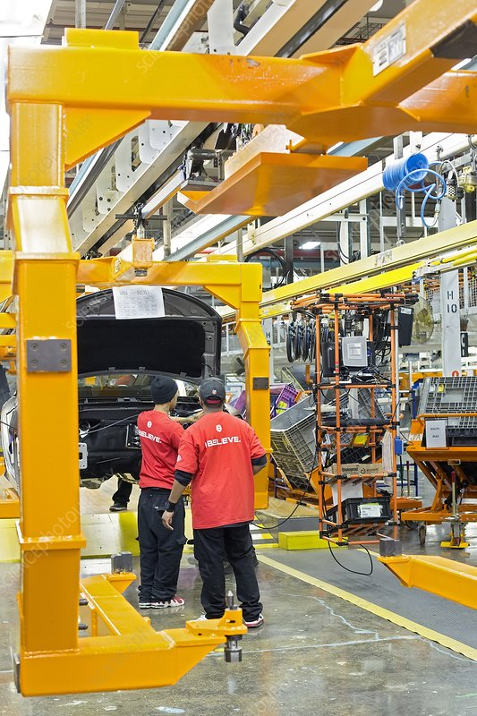 Car assembly production line