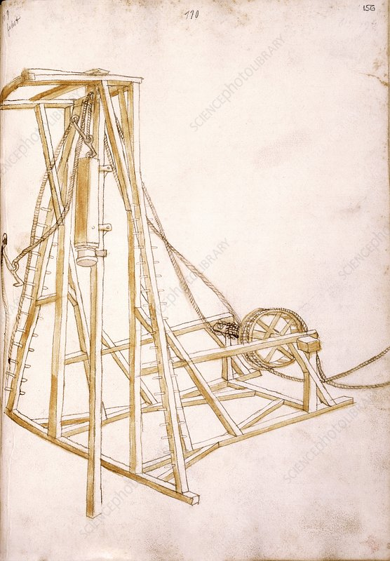 14th century military equipment, artwork