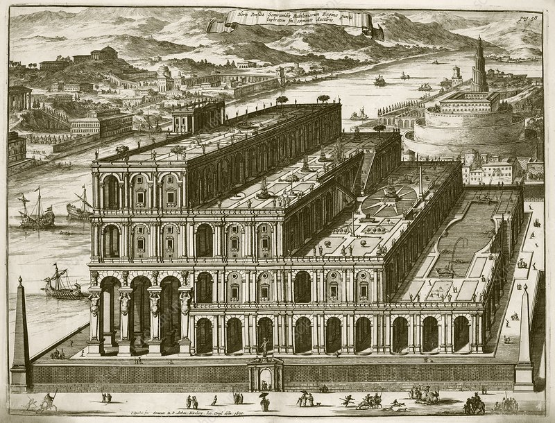 Babylon, 17th Century artwork