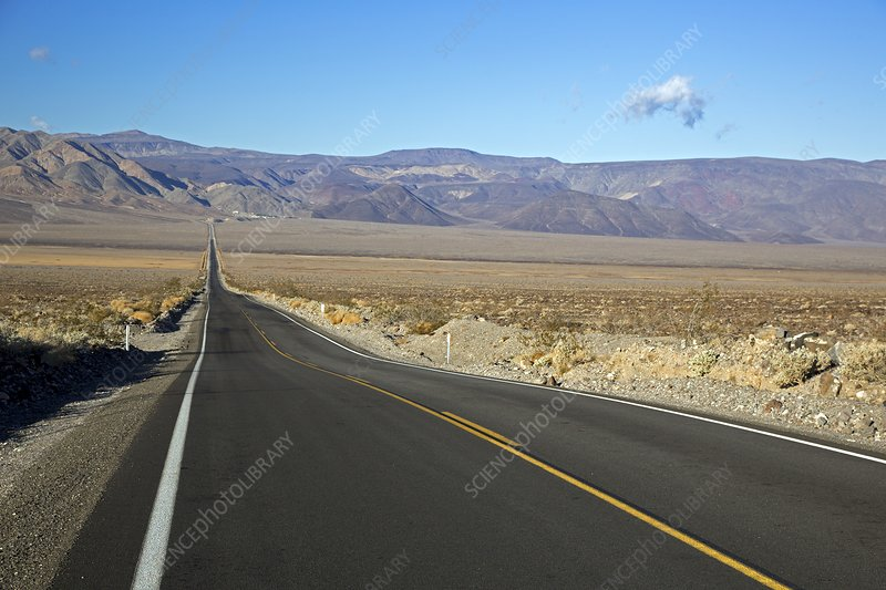 California state highway, Panamint Valley