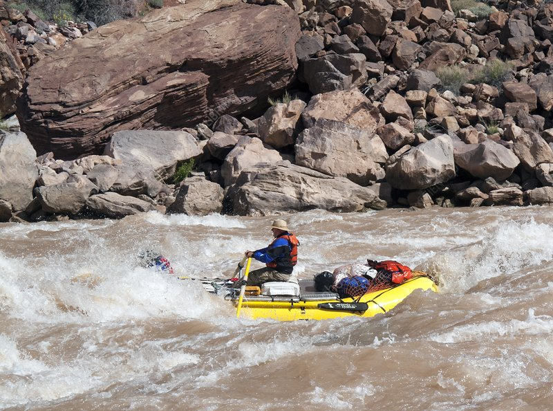 Rafting the Colorado, Grand Canyon