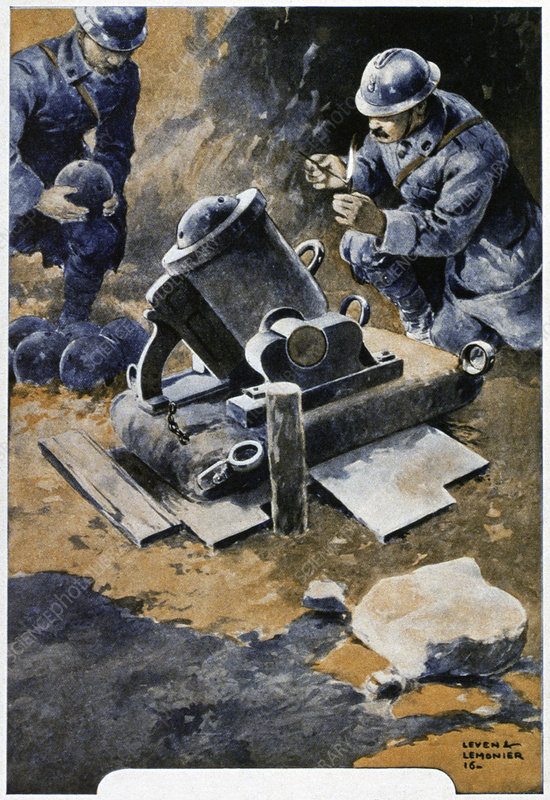 First World War, historical illustration