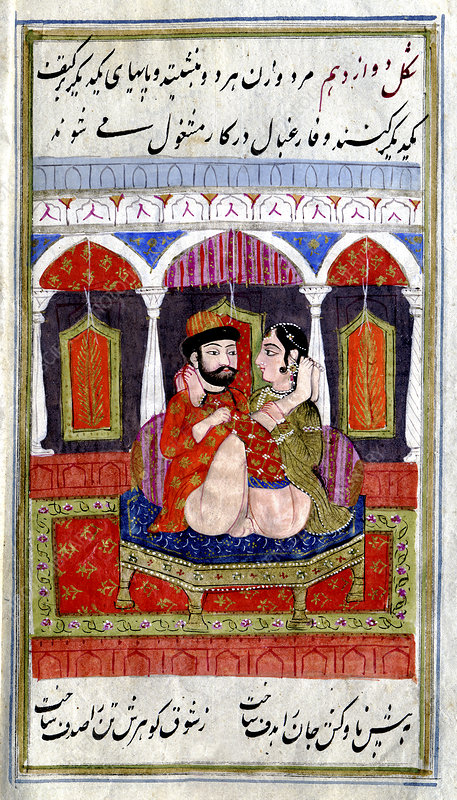 Erotic indian story, illustration