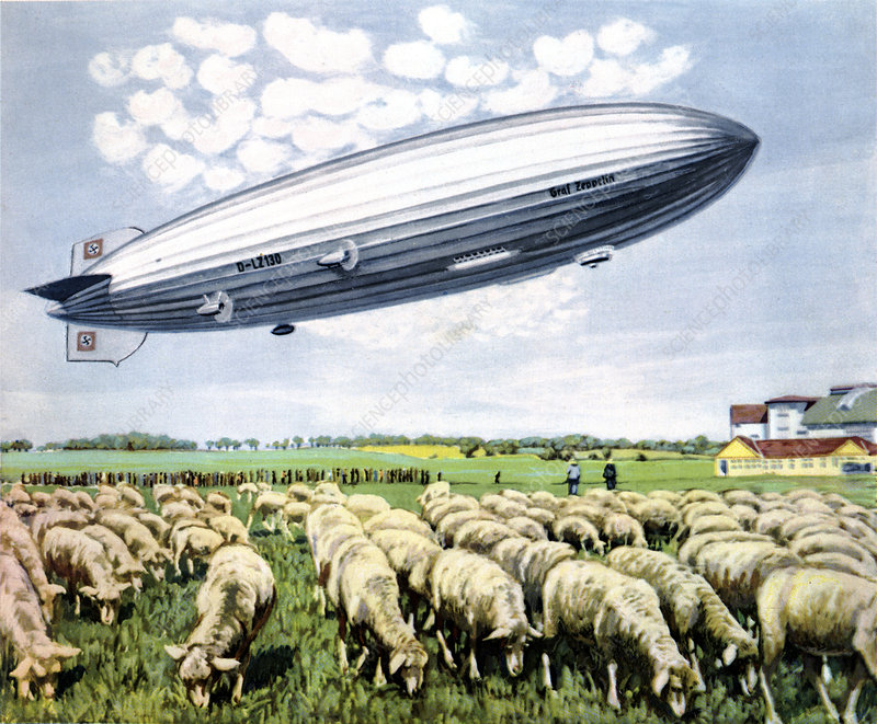 Graf Zeppelin II, historical illustration