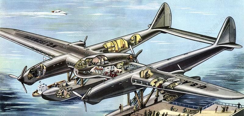 Seversky Super Clipper, illustration