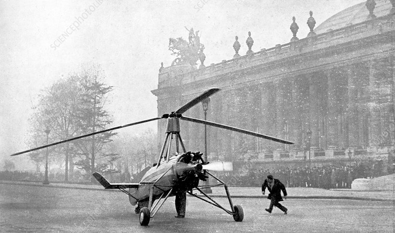 Early 20th Century autogyro