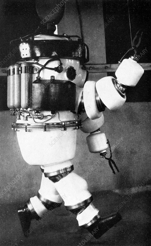 Early 20th Century diving suit