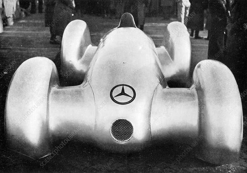 Mercedes W154 racing car