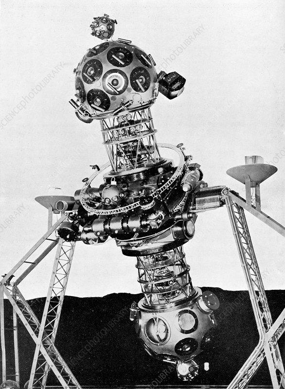 Zeiss planetarium projector Mark II - Stock Image - C022