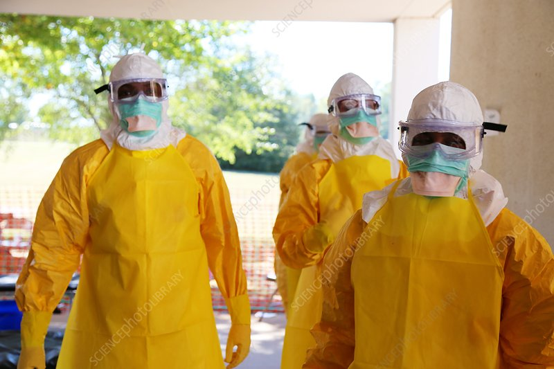 Ebola prevention training