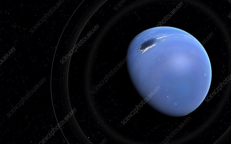 Artwork of planet Neptune