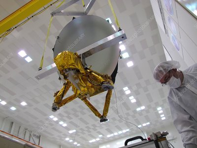 Jason-3 satellite construction