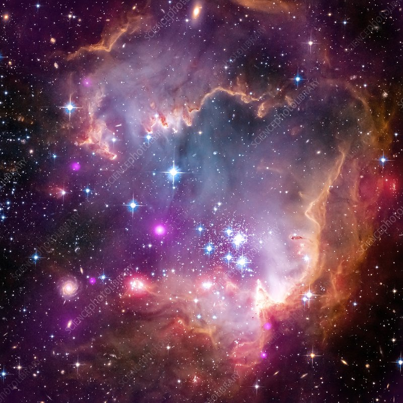 Small Magellanic Cloud, composite image