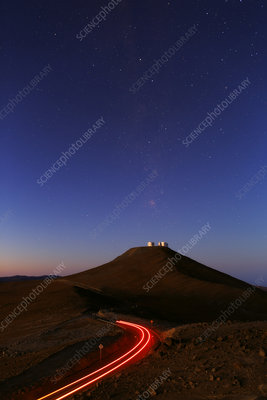 Dawn sky over Paranal observatory, Chile