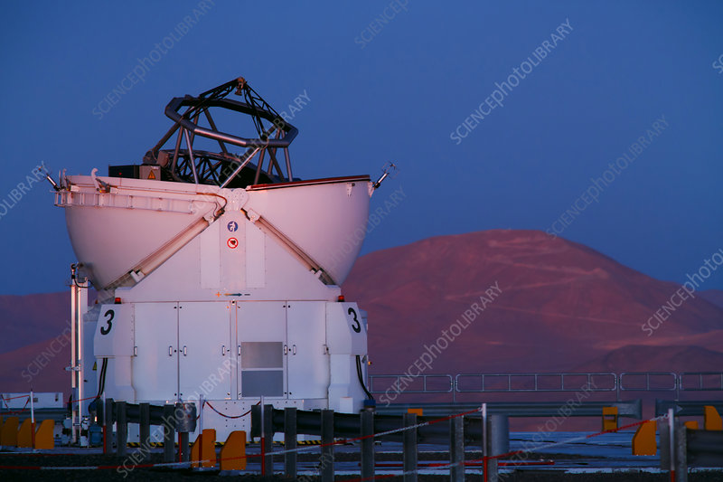 Very Large Telescope, Paranal observatory