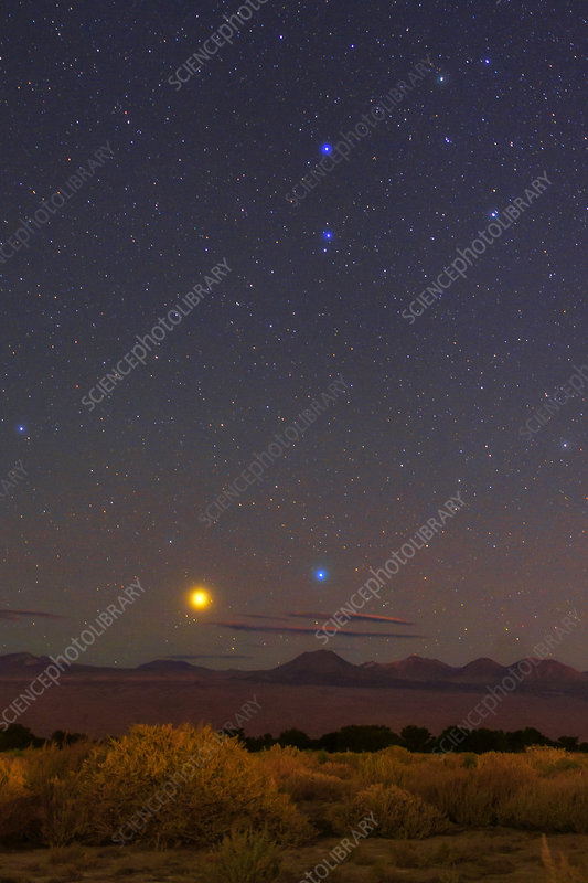 Night sky over the Atacama Desert