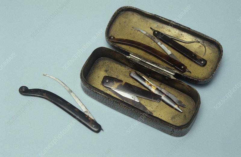 Bistoury knives, 19th century