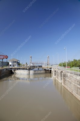 Industrial Canal lock, New Orleans, USA