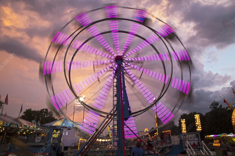 Ferris wheel fairground ride
