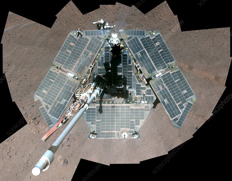 Mars rover Opportunity, March 2014