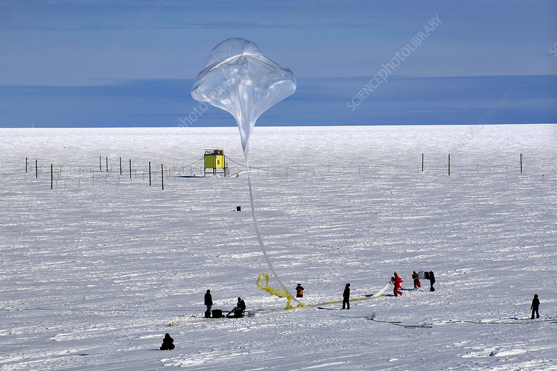 BARREL research balloon release, 2014