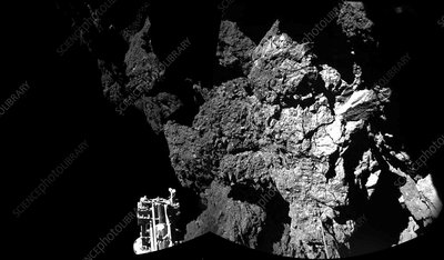 Comet Churyumov-Gerasimenko from Philae